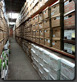 Secure business documents and records storage.